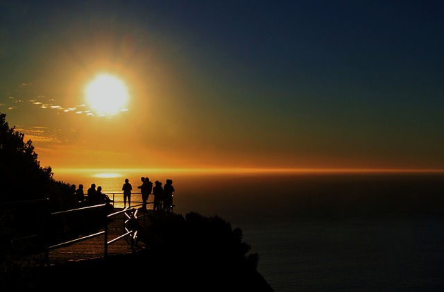 The Picturesque Sunset of South Africa