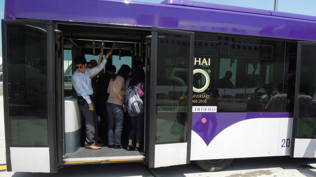 commuting public transport overseas
