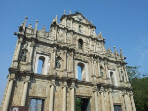 Macau churches