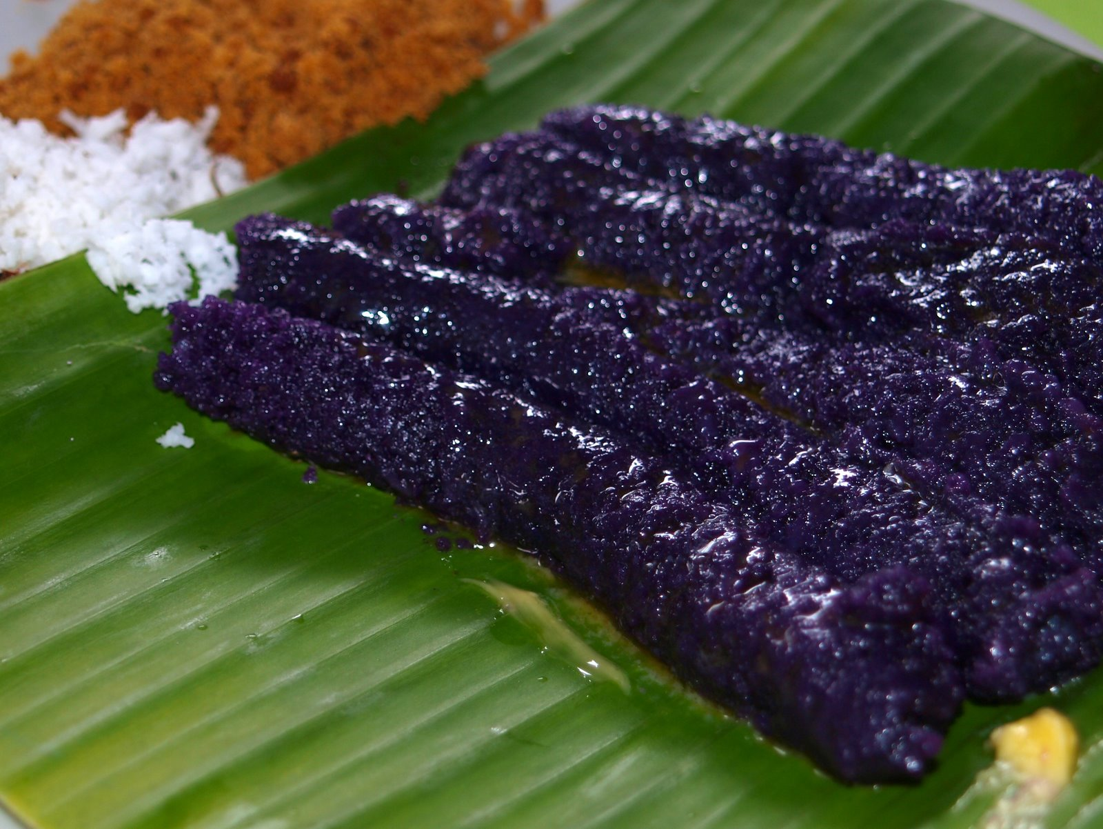 Filipino Purple Rice Cake Recipe
