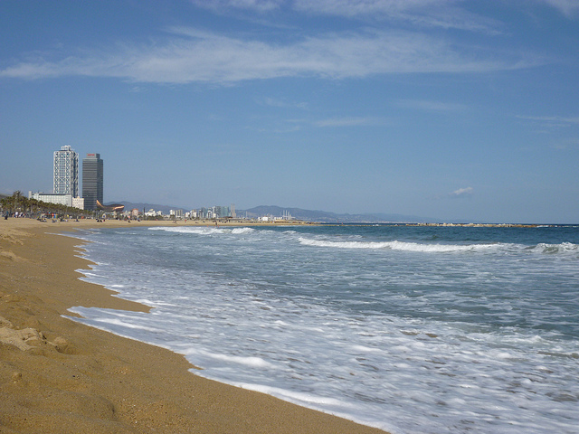 Barceloneta Beach - 5 of the Best Beaches of the World