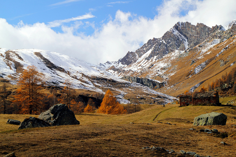 Autumn at the Alps