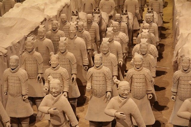 China Tourist Destination - The Terracotta Army