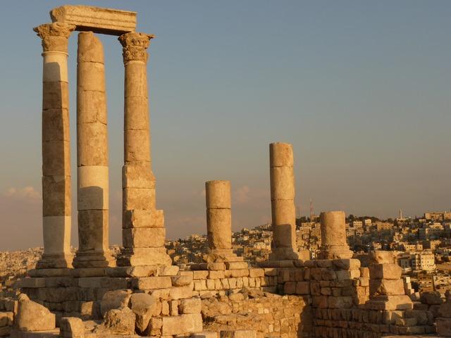 Citadel Hill Amman Jordan