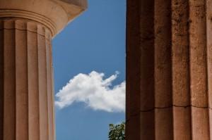 Doric Columns - Greece Destination Wedding