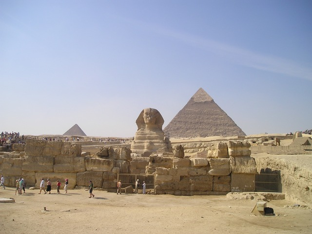 Egypt Sphinx Pyramids Egyptians Gizeh Culture