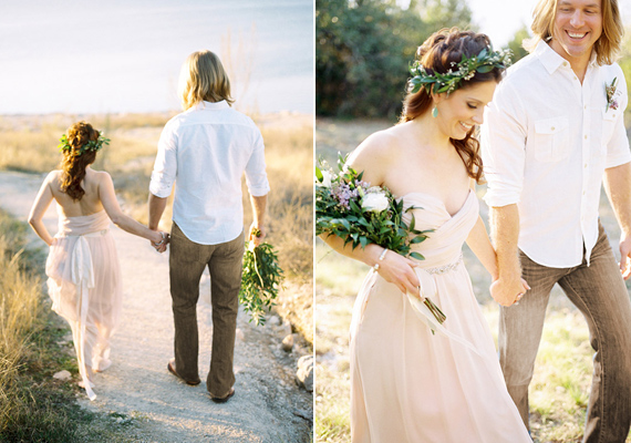 Grecian Inspired Destination Wedding