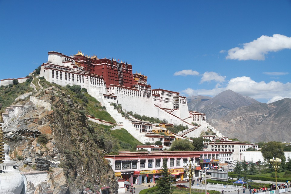 The Potala Palace is one of Magnificent Historical Sites