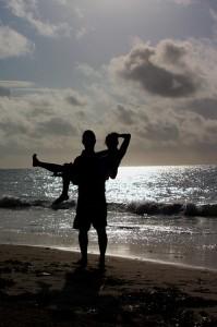 Love and Romance on the Beach