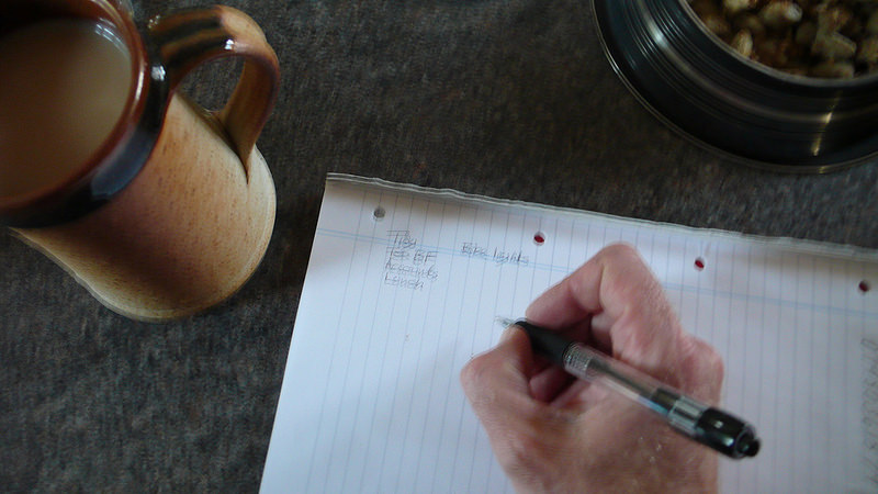 Writing a List