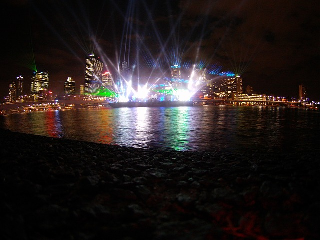 Brisbane City Lights Show
