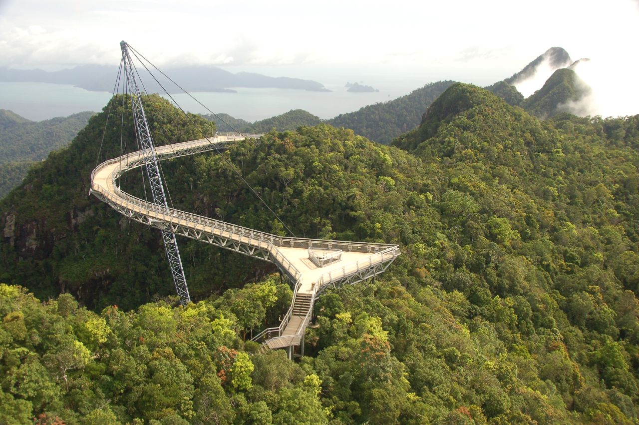 Langkawi Sky Bridge Malaysia 1