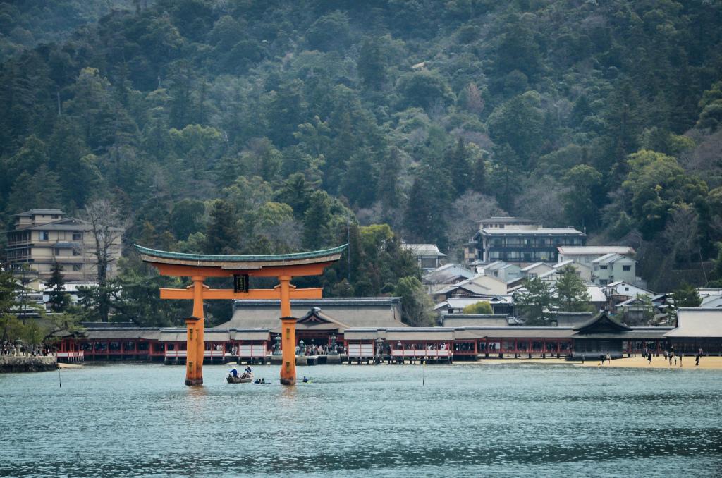 A view of Miyajima