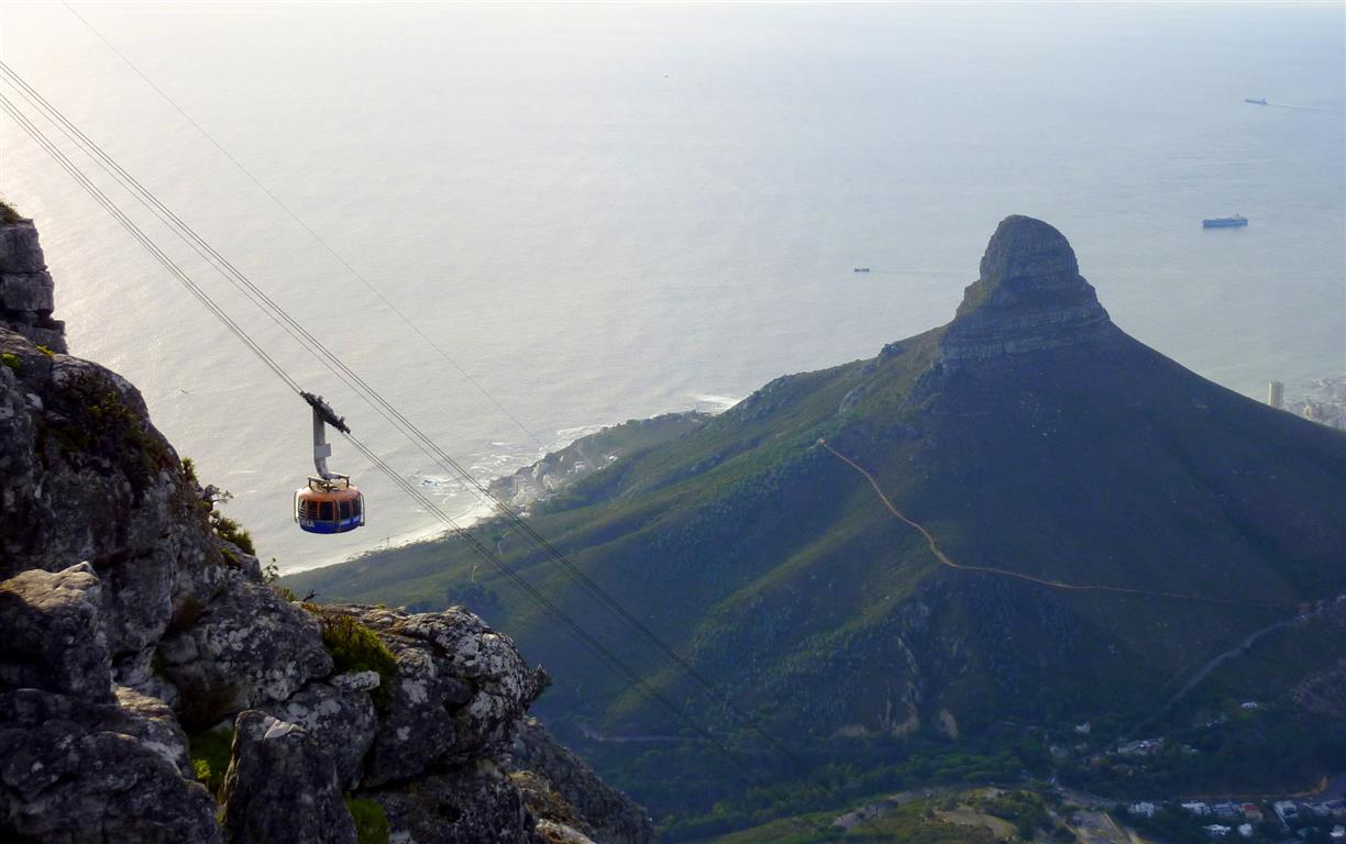 Table Mountain Aerial Cableway and Lion's Head - Cape Town, South Africa