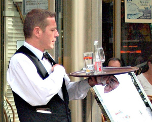Make the Most Out of Your Gap Year! 5 Great Ways to Enjoy a Year of Adventure - Work as a waiter