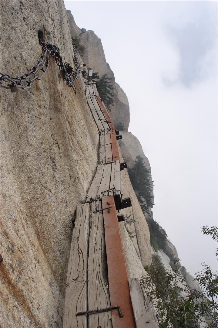 Mt. Hua Shan Stairs