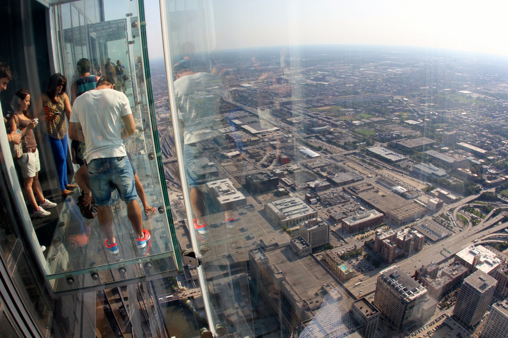Skydecks at the top of the Willis (Sears) Tower, Chicago 3