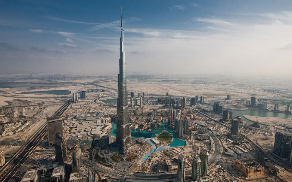 The tallest building in the world, Burj Khalifa in Dubai 1