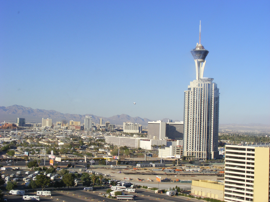 insanity Ride at Stratosphere Hotel in Las Vegas