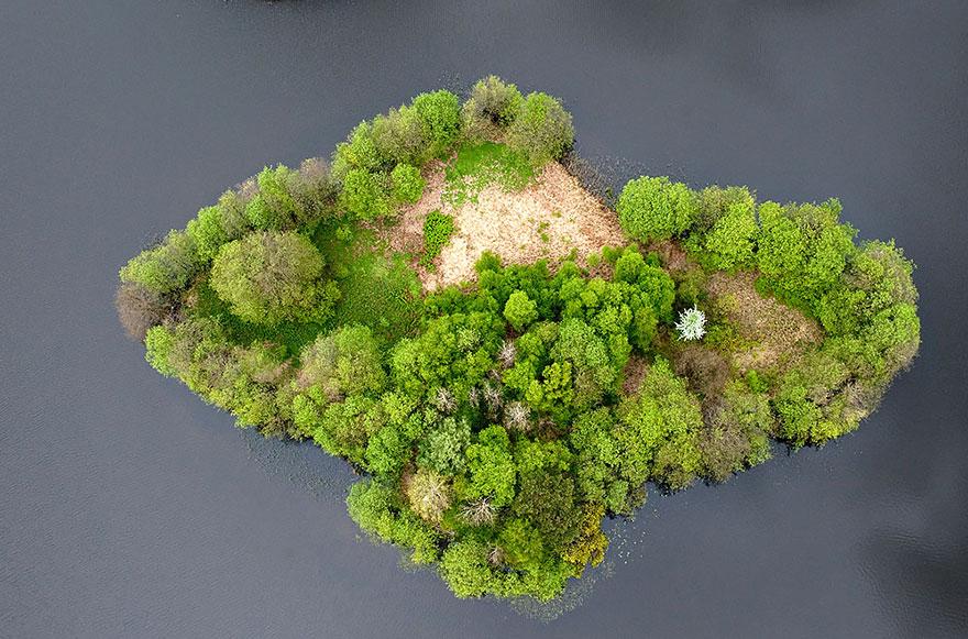 Lake Island, Poland