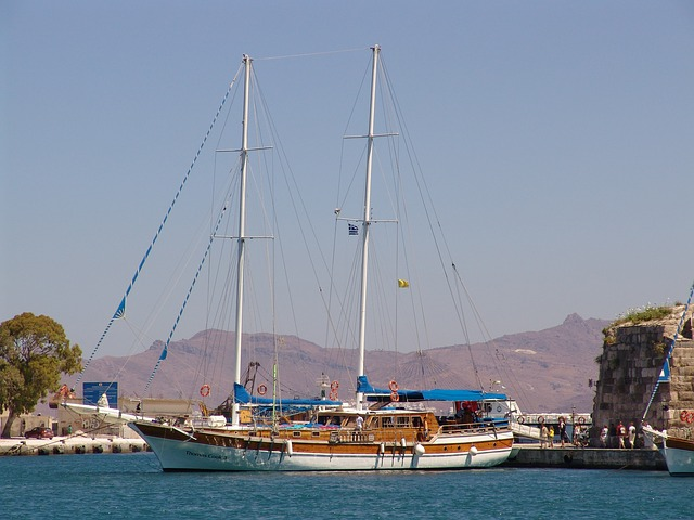 Greece sailing