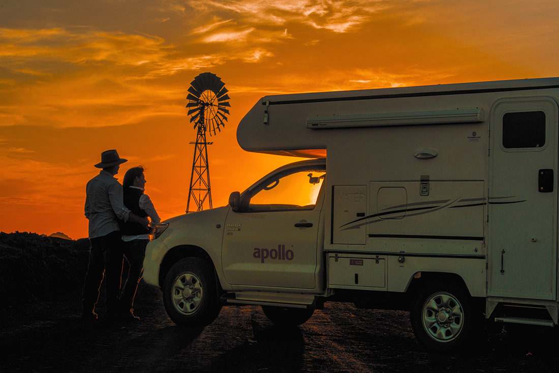 Motorhome rental alice springs