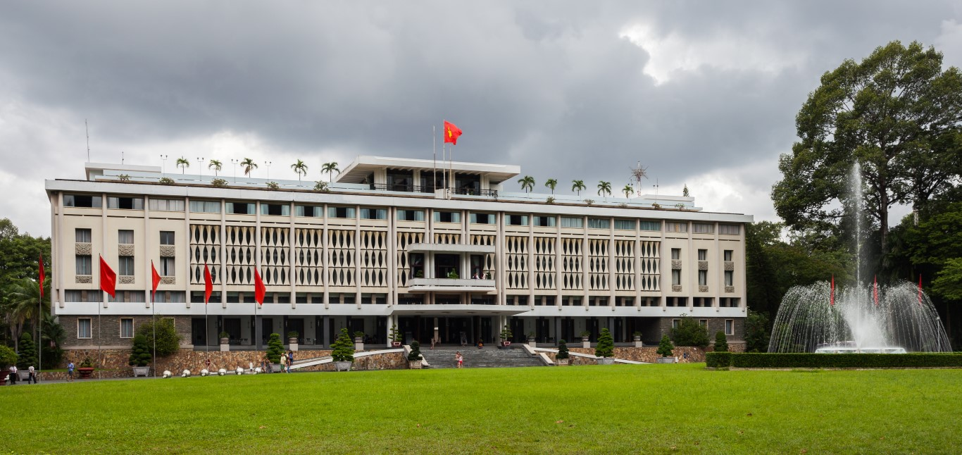 Independence Palace or Reunification Palace Dinh Độc Lập