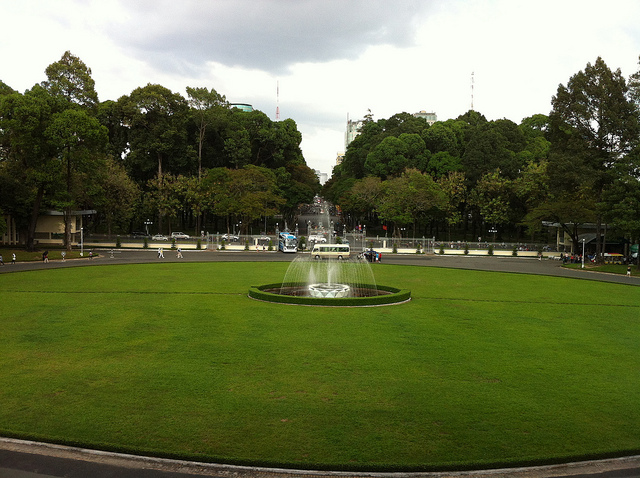 Independence Palace or Reunification Palace ( Dinh Độc Lập)