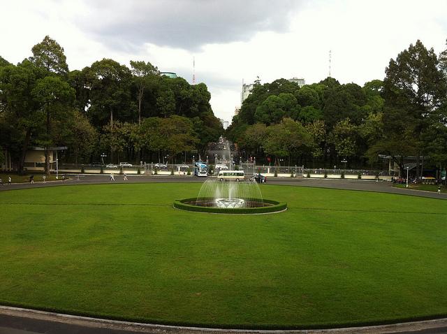 Independence Palace or Reunification Palace ( Dinh Độc Lập)