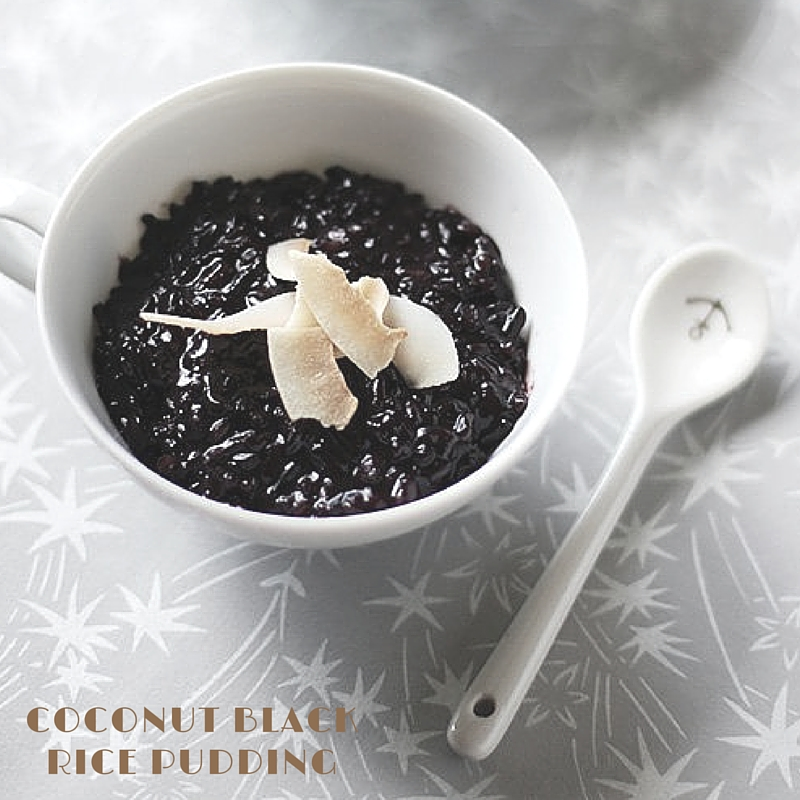 Coconut Black Rice Pudding - must eat san francisco