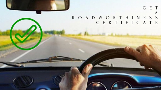 Get a roadworthiness certificate