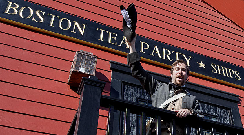Boston-tea-party-ships-and-museum-Things to see in Boston