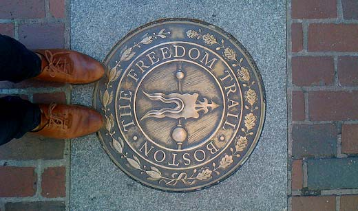 Things to see in Boston- Freedom-Trail