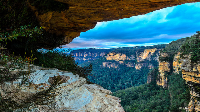 Blue Mountains View Sydney Australia