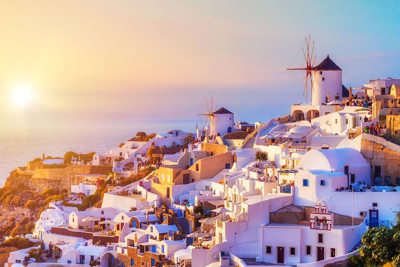 Visit Santorini in Greece