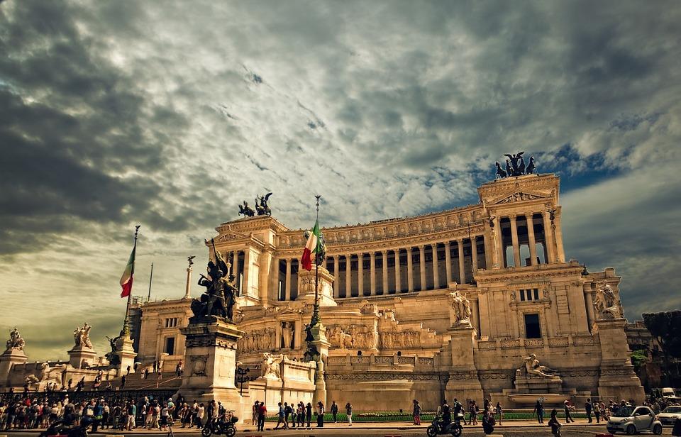 Vittorio Emanuele Monument - Rome Italy
