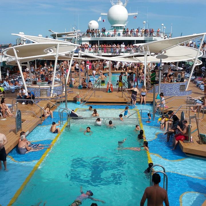 pool on cruise ship