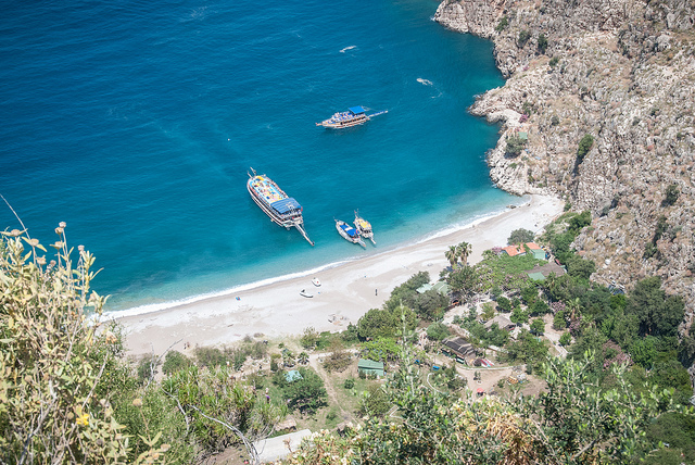 Butterfly Valley Beach