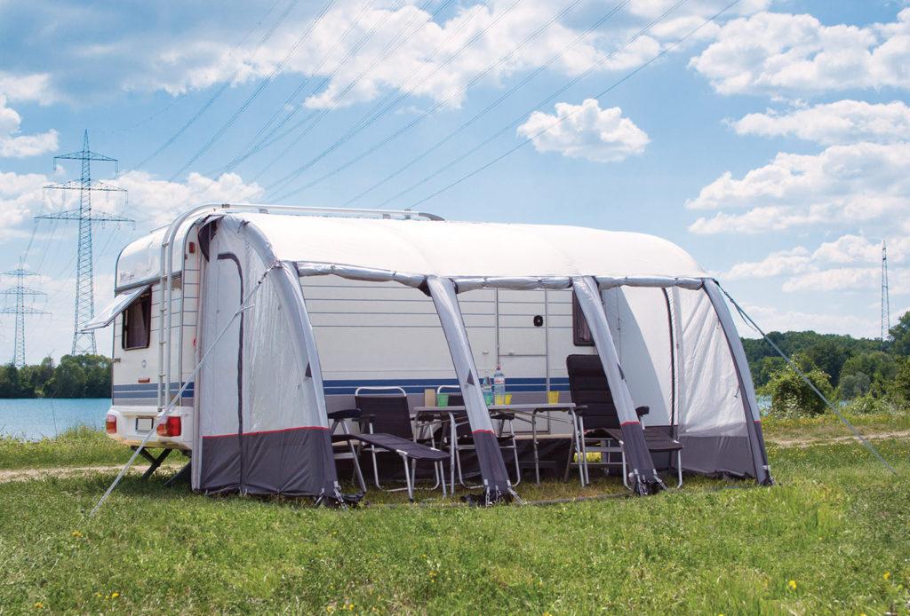 Caravan-awning