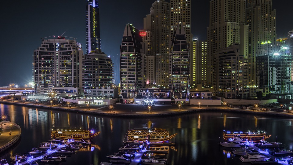 Dubai city in the United Arab Emirates