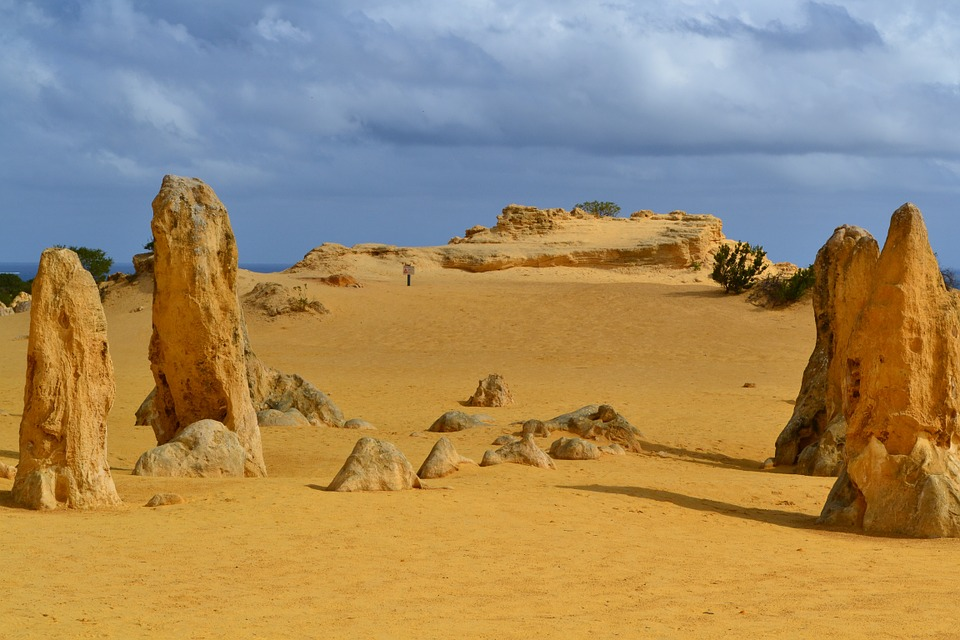 The Pinnacles in Western Australia