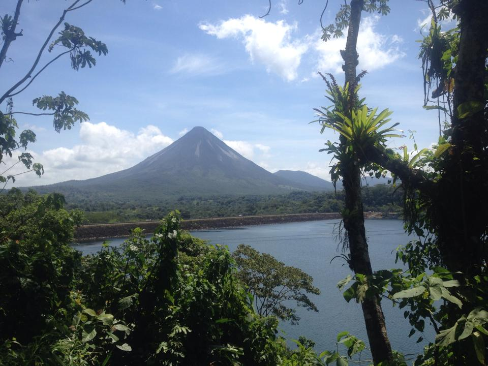 Arenal Volcano Stratovolcano in Costa Rica