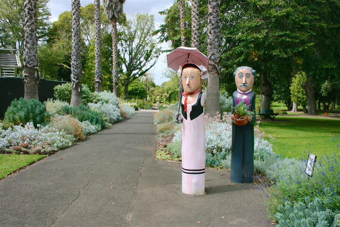 Botanic Garden Bollards - Things To Do in Geelong