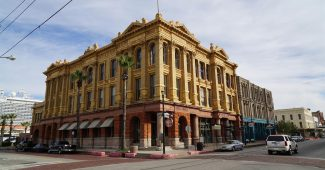 Galveston Downtown - historic Building