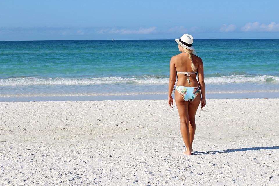 beach swimsuit